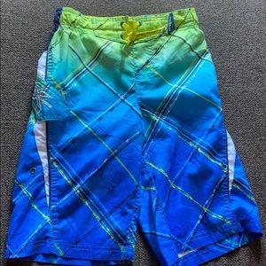 Shark swimming trunks for boys